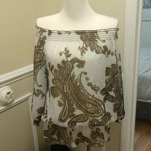 I.N.C. Paisley print tunic